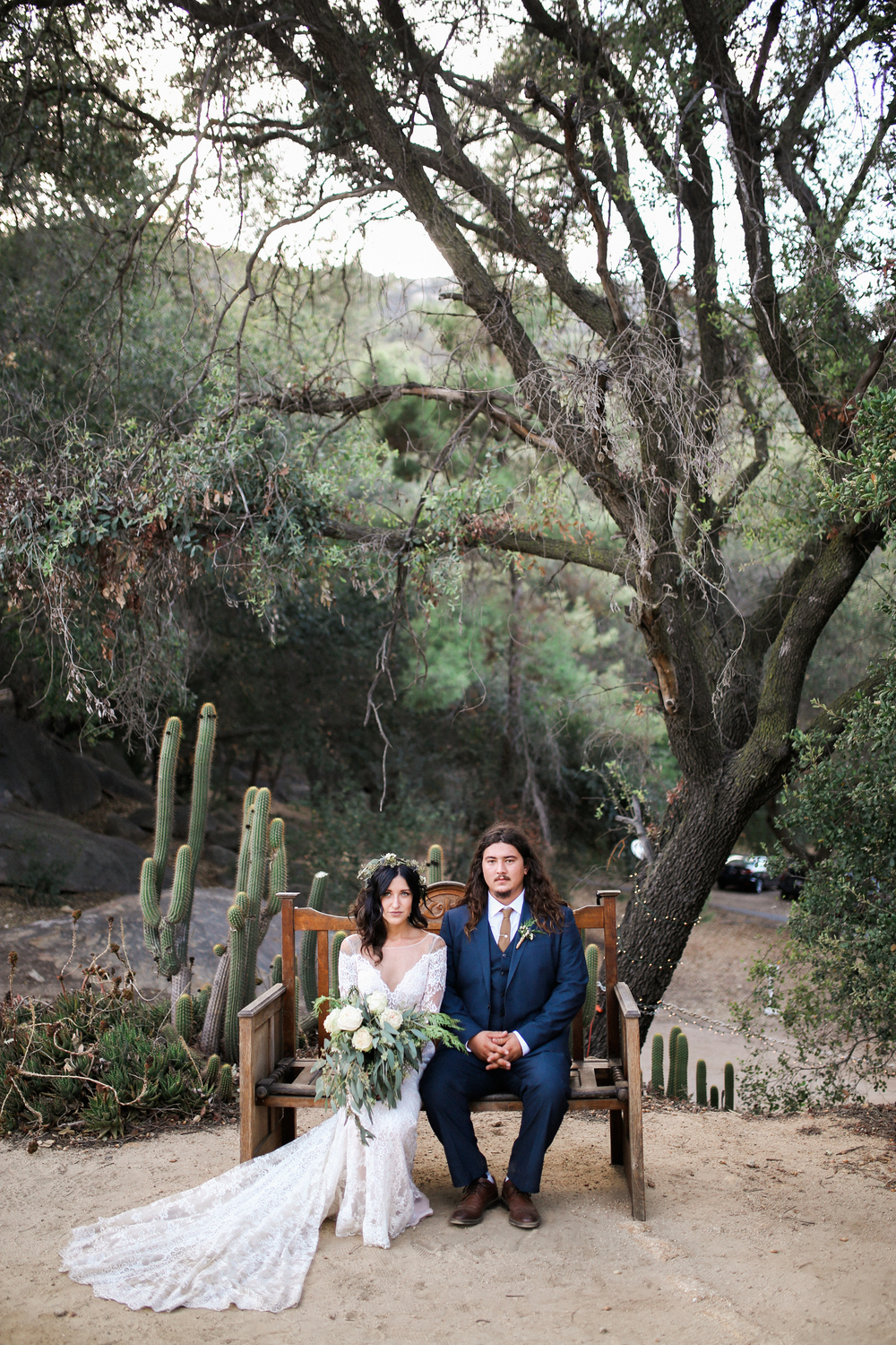 Chelsea + Tad | Secluded Garden Estate | 2015